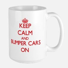 Keep Calm and Bumper Cars ON Mugs