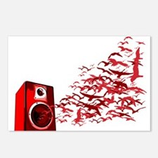Fly away with the music Postcards (Package of 8)