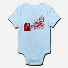 Fly away with the music Infant Bodysuit