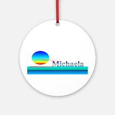 Michaela Ornament (Round)