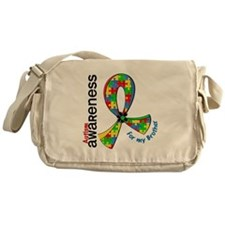 For My Brother Autism Messenger Bag