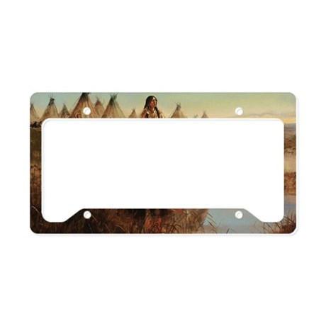 Native Americans License Plate Holder By Listing Store