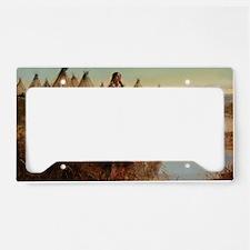 native americans License Plate Holder