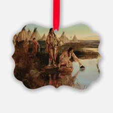 native americans Ornament