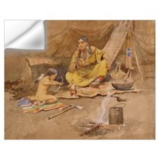 native americans Wall Decal
