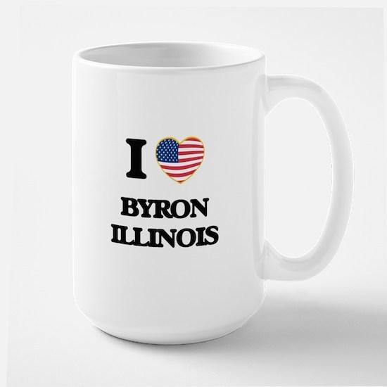 I love Byron Illinois Mugs