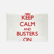 Keep Calm and Busters ON Magnets