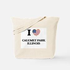 I love Calumet Park Illinois Tote Bag