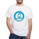 Laboratory week Mens White T-shirts