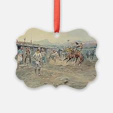 cowboy art Ornament