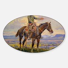 cowboy art Decal