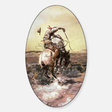cowboy art Decal