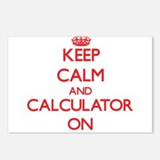 Keep Calm and Calculator Postcards (Package of 8)