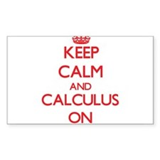 Keep Calm and Calculus ON Decal