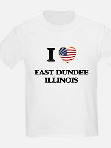I love East Dundee Illinois T-Shirt