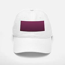 modern burgundy ombre Baseball Baseball Cap