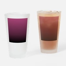 modern burgundy ombre Drinking Glass