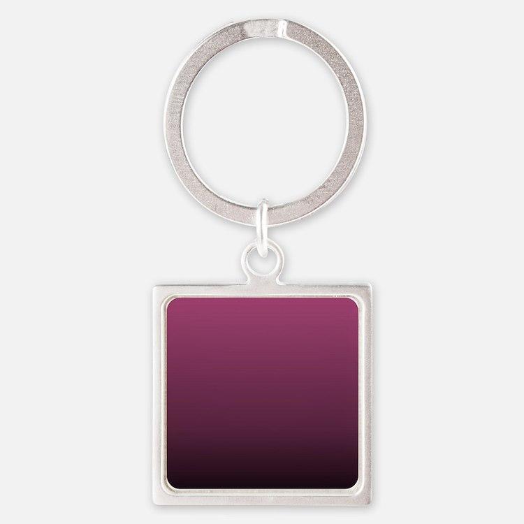 modern burgundy ombre Keychains