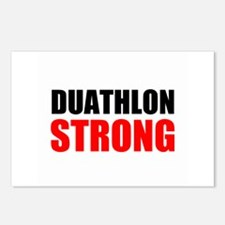 Duathlon Strong Postcards (Package of 8)