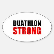 Duathlon Strong Decal