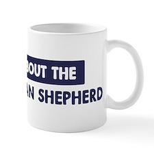 About WHITE GERMAN SHEPHERD Mug