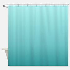 beach seafoam ombre Shower Curtain