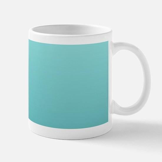 beach seafoam ombre Mugs
