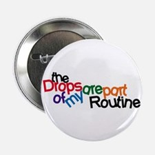 """Routine Drops 2.25"""" Button (10 pack)"""