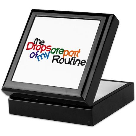Routine Drops Keepsake Box