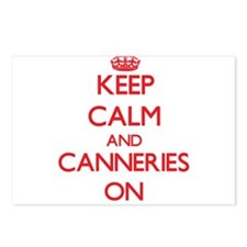 Keep Calm and Canneries O Postcards (Package of 8)