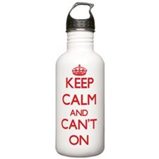 Keep Calm and Can't ON Water Bottle