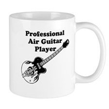 Professional Air Guitar Player Mugs