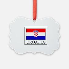 Croatia Ornament