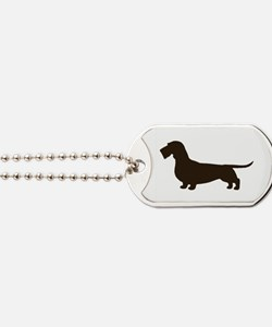 Wirehaired Dachshund Dog Tags