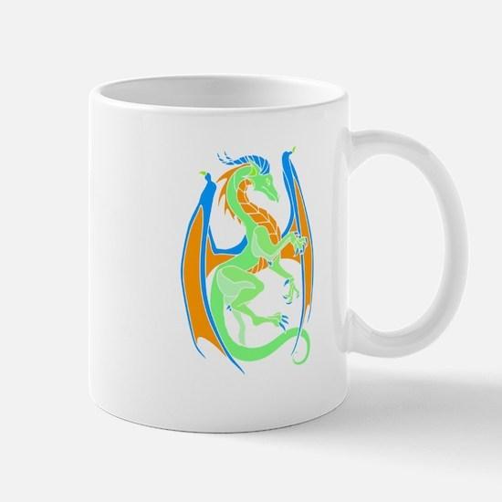 Magical Dragon Art Mugs