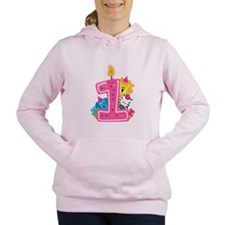 First Birthday Women's Hooded Sweatshirt