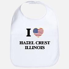 I love Hazel Crest Illinois Bib