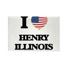 I love Henry Illinois Magnets