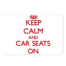 Keep Calm and Car Seats O Postcards (Package of 8)