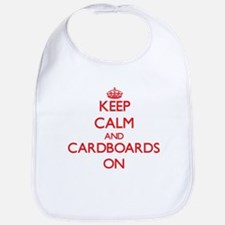 Keep Calm and Cardboards ON Bib