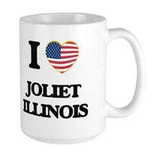 I love Joliet Illinois Mugs
