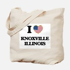 I love Knoxville Illinois Tote Bag