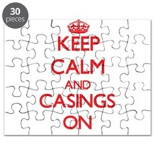 Keep Calm and Casings ON Puzzle