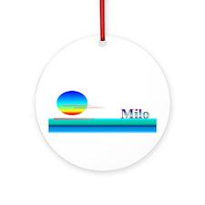 Milo Ornament (Round)