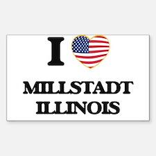 I love Millstadt Illinois Decal