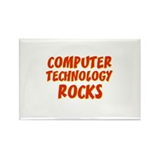 Computer Technology~Rocks Rectangle Magnet