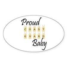 CG baby Oval Decal