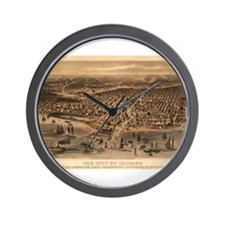 Chicago, Illinois Wall Clock
