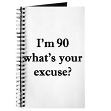 90 your excuse 2 Journal