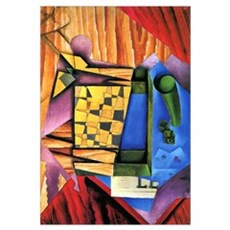 Juan Gris - Backgammon Framed Print
